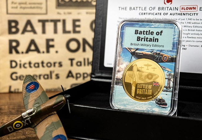 The Collectology Battle of Britain Flown Edition