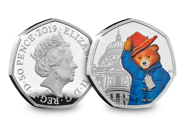 The Paddington at St Paul's Cathedral Silver Proof 50p - Collectology