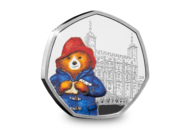 The Paddington at the Tower of London Silver Proof 50p Coin - Collectology