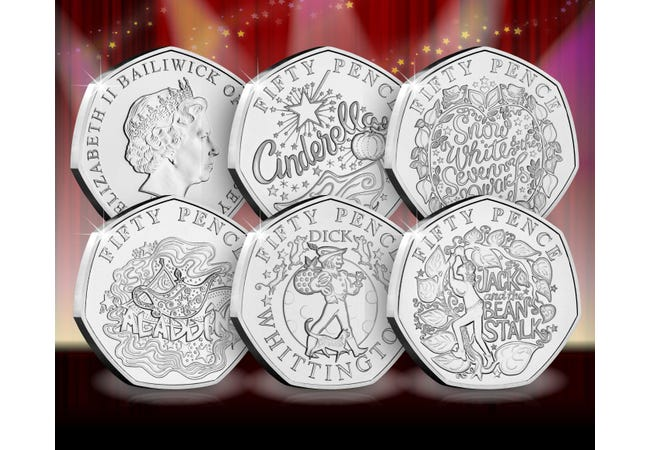 The Panto 50p Capsule Edition Set