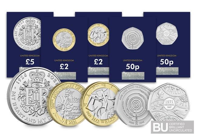 The 2021 Commemorative Coin Set