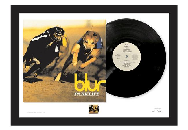 Parklife Stamp and Vinyl Presentation Frame - Collectology