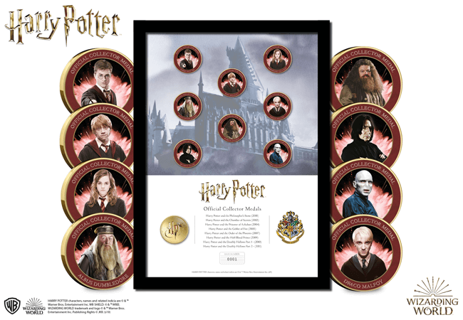 The Harry Potter Favourites Framed Edition