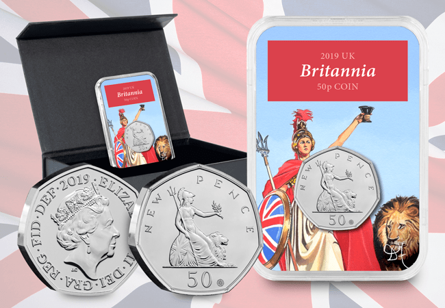 The 50th Anniversary of the 50p Britannia Capsule Edition - Collectology
