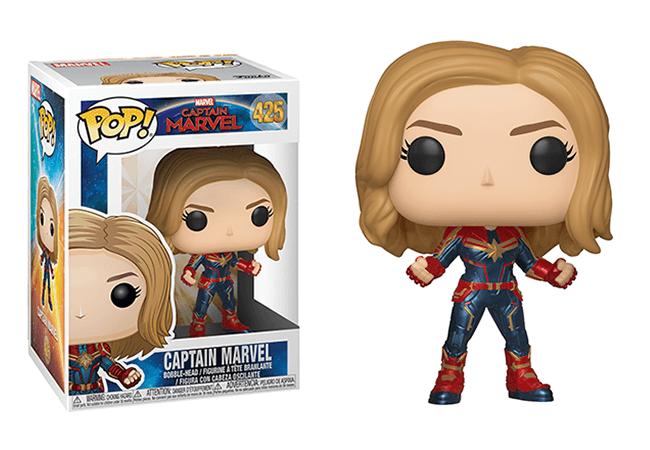 Captain Marvel Pop! Vinyl Figure - Collectology