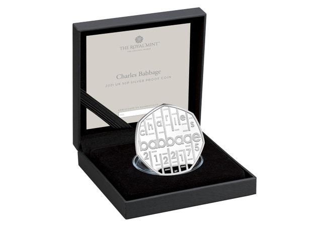 Charles%20Babbage%202021%20UK%2050p%20Silver%20Proof%20Coin%20in%20case%20right%2