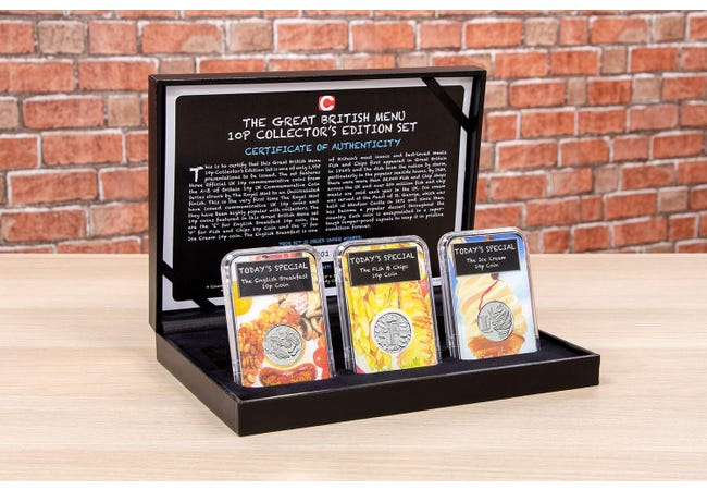 The Great British Menu 10p Collector's Set - Collectology