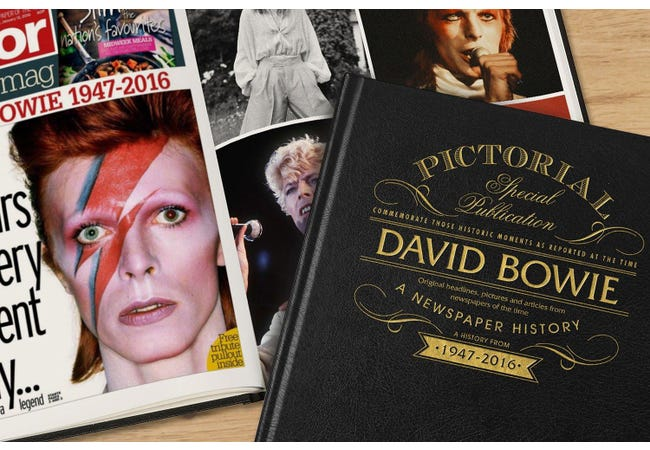 The David Bowie Newspaper Book - Collectology