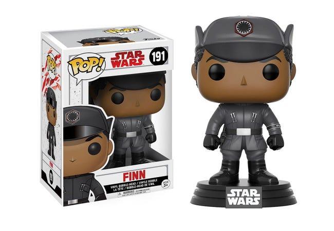 The STAR WARS Episode VIII Pop! Vinyl Bobble Head Finn - Collectology
