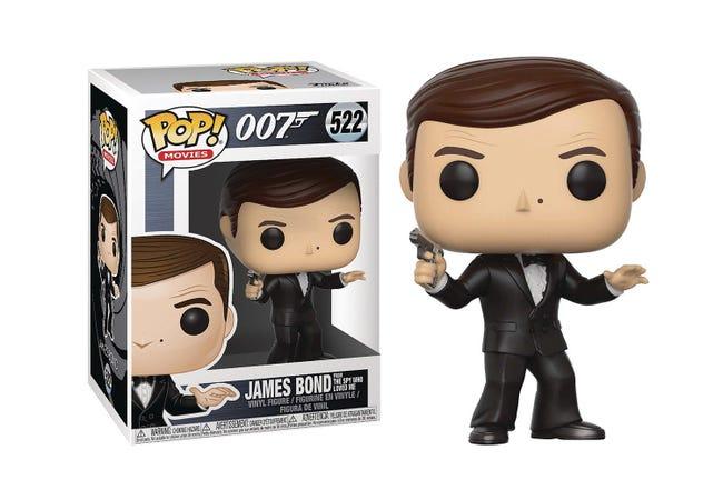 The James Bond Roger Moore Pop! Vinyl Figure - Collectology