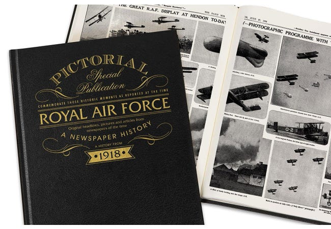 The RAF Centenary Newspaper Book - Collectology