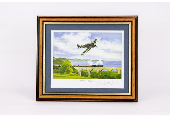 The Typhoon Signed Framed Print - Collectology