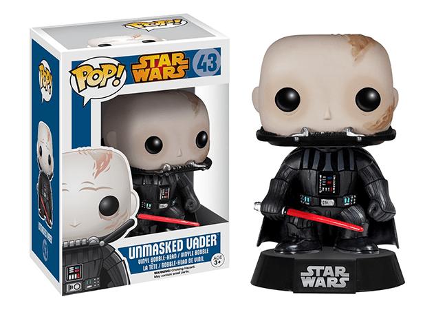 Darth Vader Unmasked Pop! Vinyl Figure - Collectology