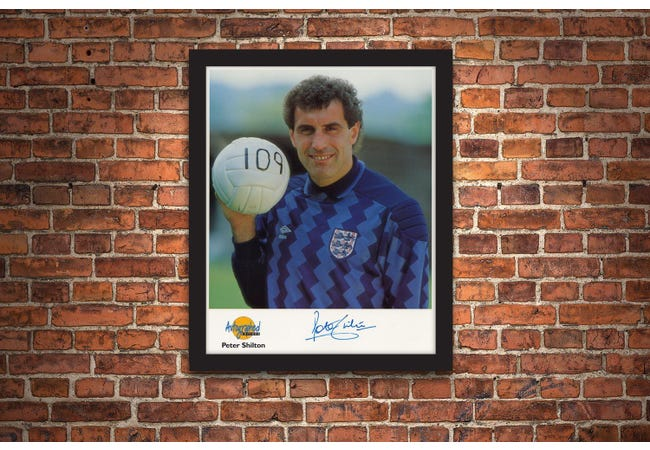 The Peter Shilton Signed Framed Photograph - Collectology
