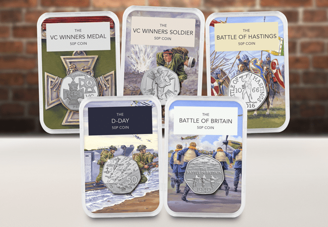 50 Years of the 50p Military Capsule Edition Set