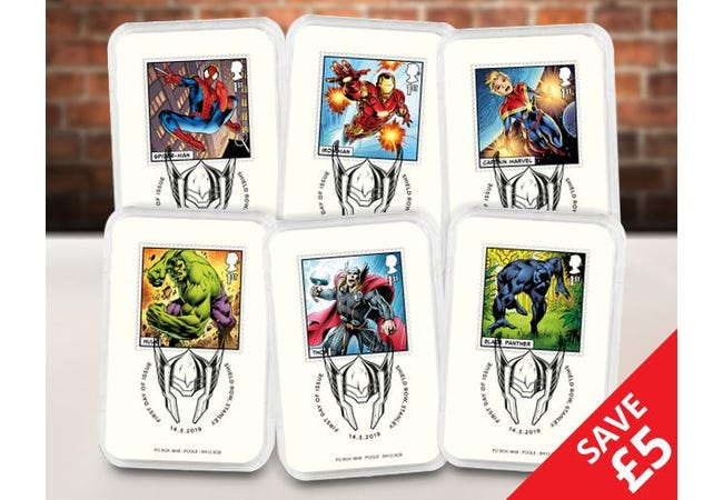 The Favourites Capsule Edition featuring the Marvel Characters - Collectology