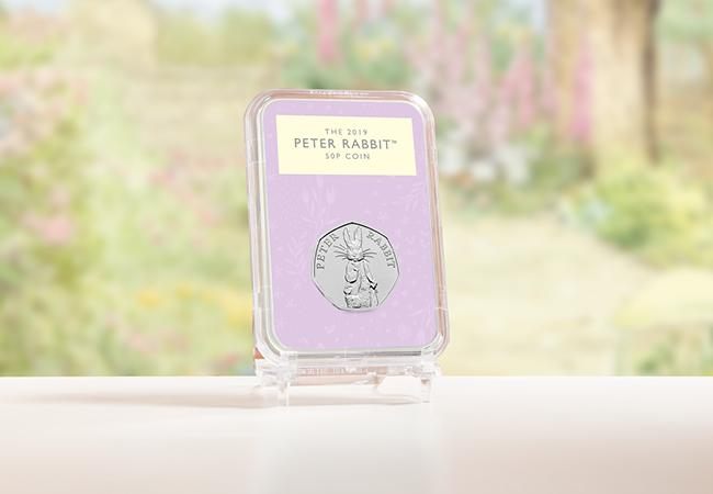 The Capsule Edition featuring the 2019 Peter Rabbit 50p - Collectology