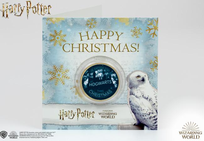 The Harry Potter Christmas Commemorative Note Card