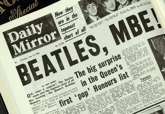 The Beatles Newspaper Book - Collectology