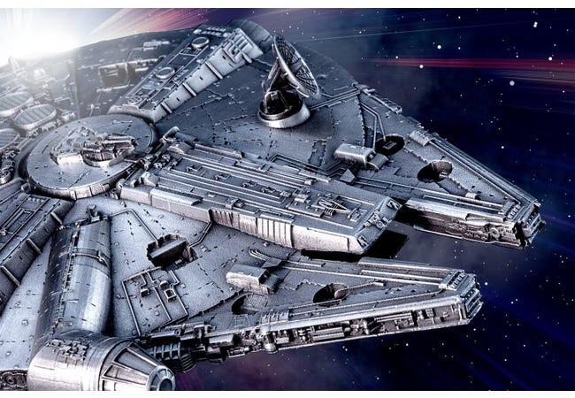 The Royal Selangor STAR WARS Millennium Falcon Replica - Collectology