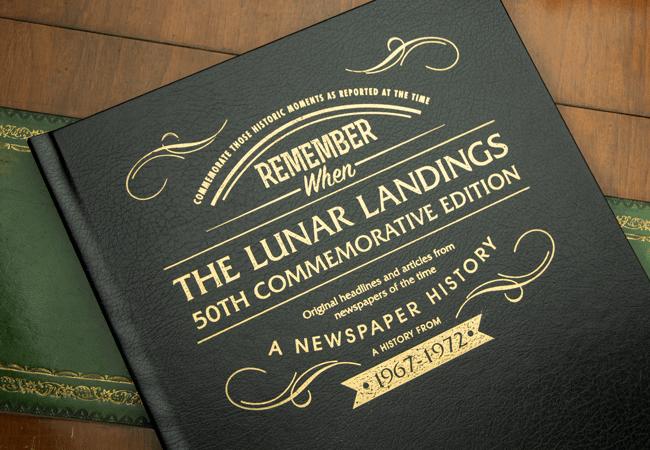 The Lunar Landings Newspaper Book - Collectology
