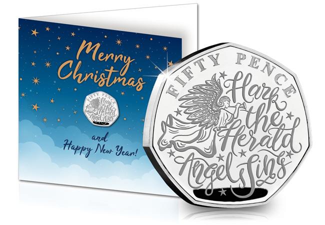 The Christmas Carol 50p Card