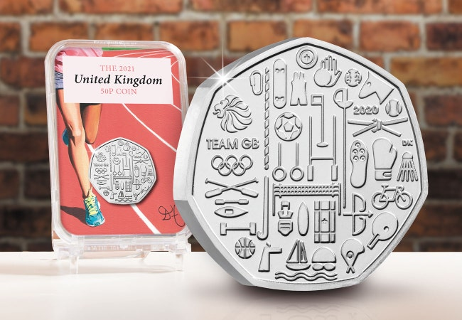 The Capsule Edition featuring The UK 2021 Team GB 50p