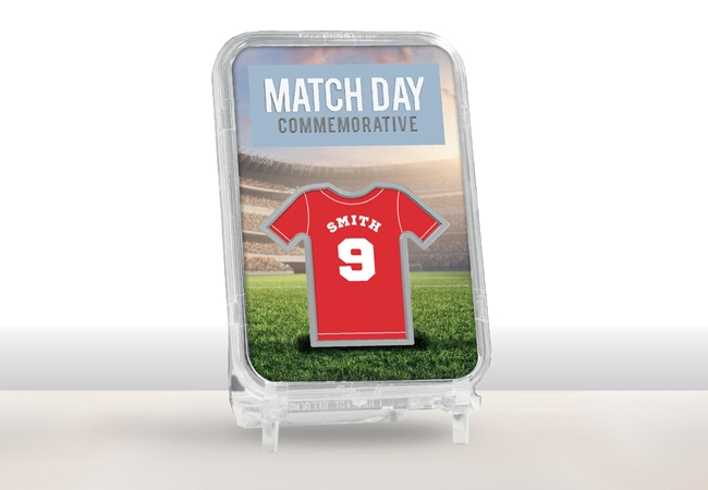 The Personalised Match Day Commemorative
