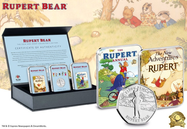 The Rupert Bear Coin and Ingot Collector Edition