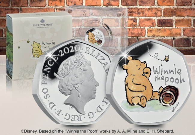 The Winnie the Pooh Silver Proof 50p
