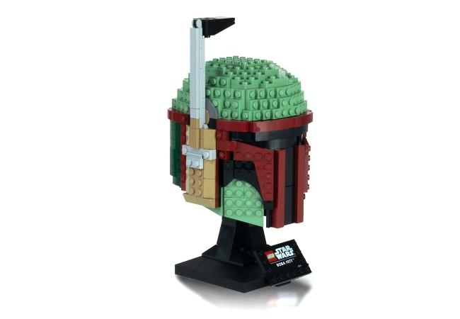 The Lego Boba Fett Helmet