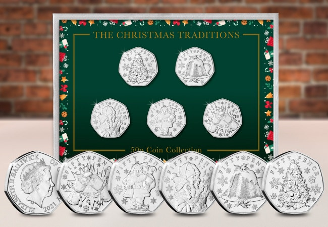 Christmas Traditions Coin Collection