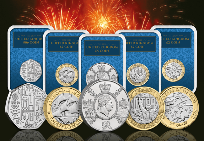 The UK 2020 Commemorative Coins Collector Edition