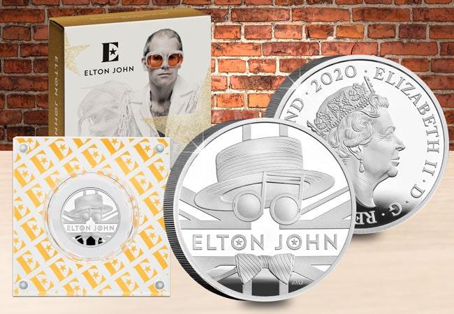 The Elton John Half Ounce Silver Coin