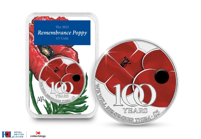 The 2021 Poppy £5 Capsule Edition