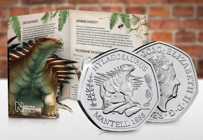 The Hylaeosaurus 50p BU Pack