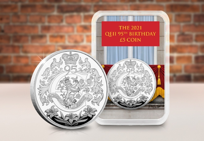 The QEII 95th £5 Collector's Edition
