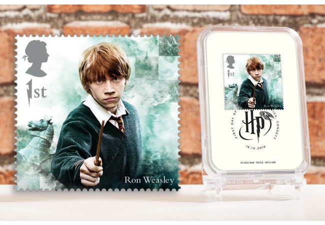The First Day of Issue Capsule Edition - Ron Weasley Stamp - Collectology