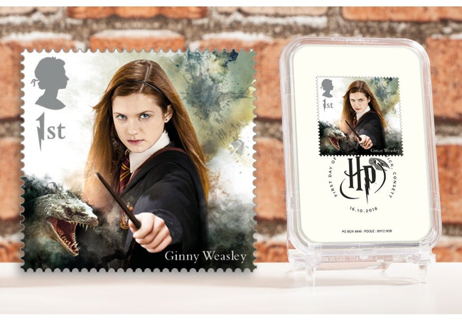 The First Day of Issue Capsule Edition - Ginny Weasley Stamp - Collectology