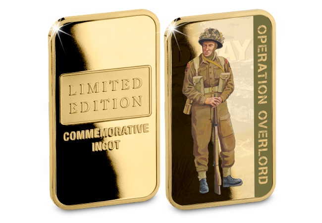 The Soldier, 3rd Infantry Division Ingot