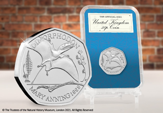 The Capsule Edition featuring the Dimorphodon 50p