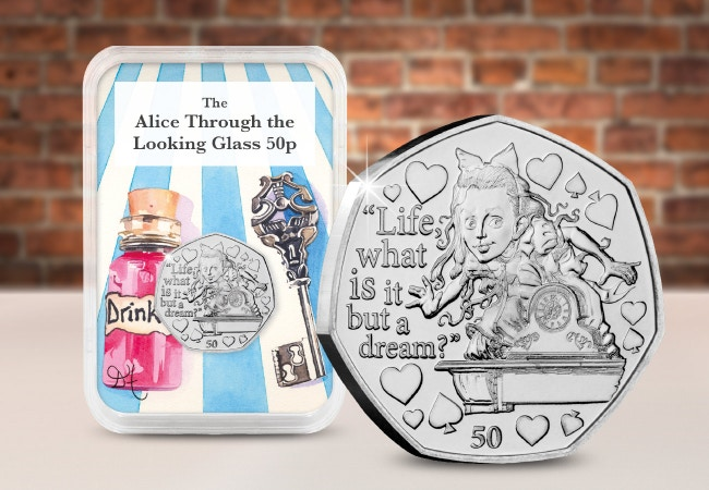 Alice Through The Looking Glass 50p Capsule Edition