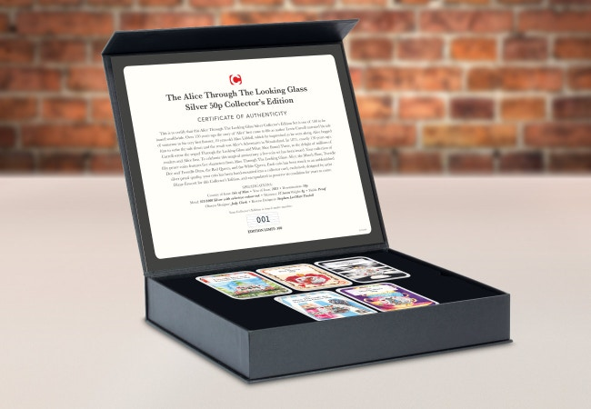 Alice Through The Looking Glass Silver Collector's Edition