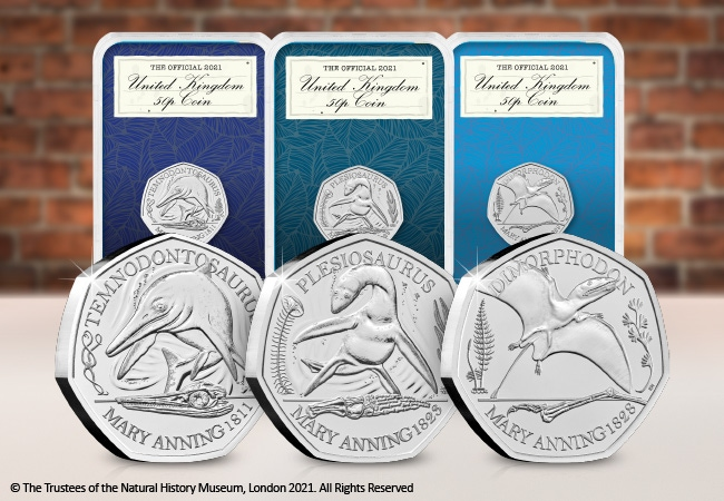 The Collector's Edition featuring the Mary Anning 50p Coins