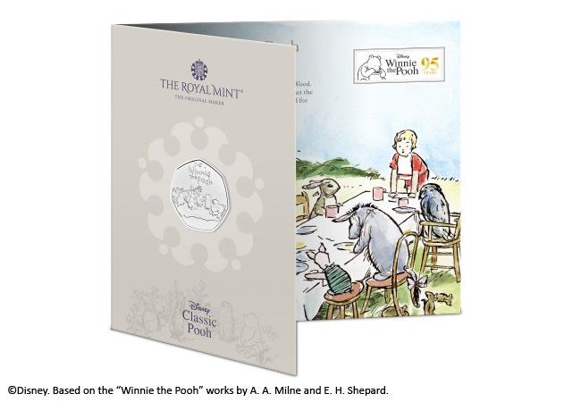 The Winnie the Pooh & Friends 50p BU Pack