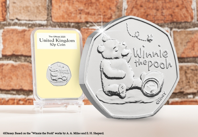 The Capsule Edition featuring the Winnie the Pooh 50p