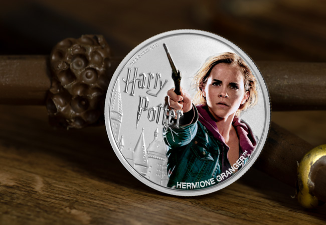 The 1oz Silver Hermione Coin
