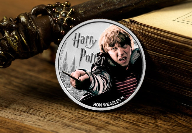 The 1oz Silver Ron Weasley Coin