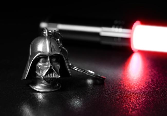 The Royal Selangor Darth Vader Keychain