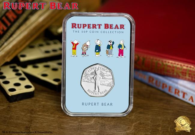 The Rupert Bear 50p Capsule Edition